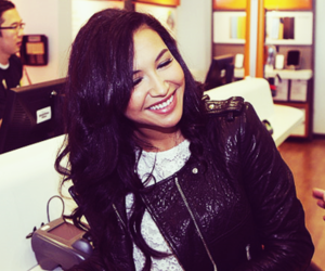 naya rivera and glee image