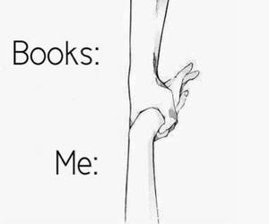 books, help, and me image
