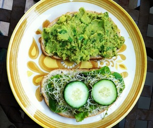 vegan, green food, and healthy meal image