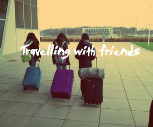 travel, friends, and cute image