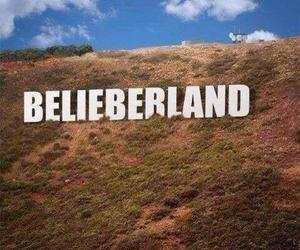 justin bieber, belieberland, and beliebers image