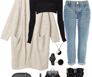 chanel, soft grunge, and jeans image