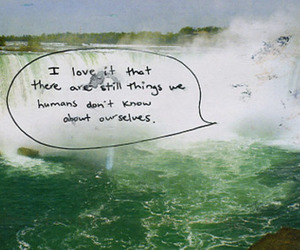 quote and waterfall image