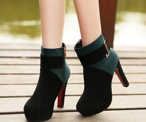 boots, elegant, and fashion image