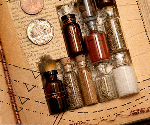 bottle, magic, and wicca image