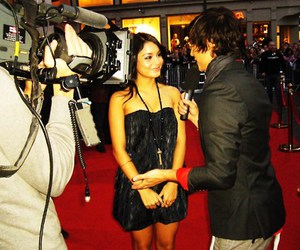 red carpet, eric saade, and vanessa hudgens image