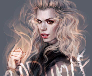 bad wolf, rose tyler, and doctor who image