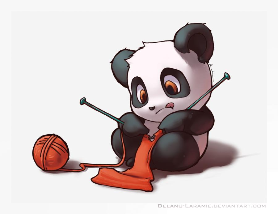 Cute Panda Uploaded By Nolwenn Lps On We Heart It