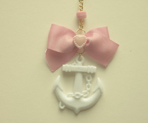 anchor, bead, and bow image