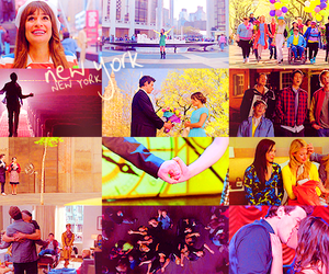 cast, rachel berry, and love in shape of rasperry image