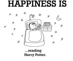 harry potter, book, and happiness image