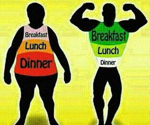 healthy, breakfast, and dinner image