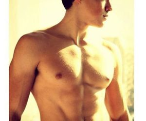 abs, handsome, and model image