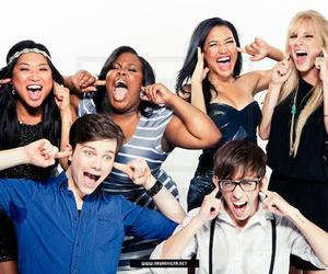 glee, mercedes, and tina image
