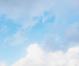 blue, peaceful, and sky image