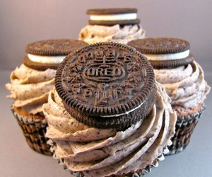 oreo, food, and cupcake image