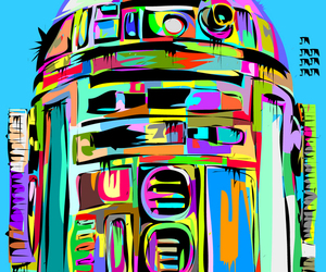 star wars and r2 image