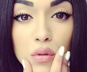 beauty, lips, and make up image