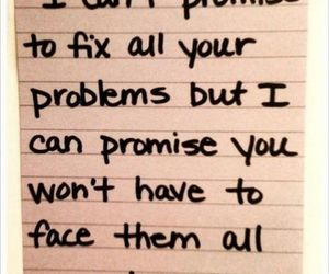 quotes, problem, and promise image