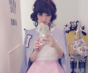 asian, japanese, and pink image