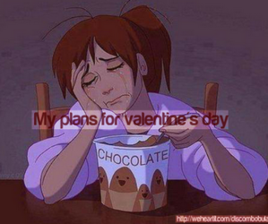 chocolate, food, and valentines day image