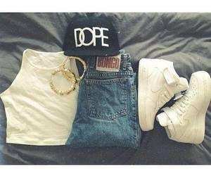 dope, fashion, and nike image