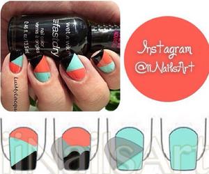 nails, beautiful, and tutorial image