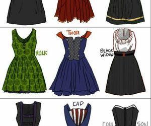 dress, Avengers, and Hulk image