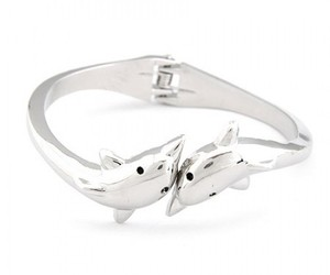 bangle, dolphins, and pretty image