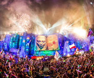 Tomorrowland, fun, and party image