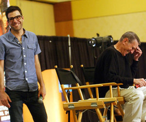 star trek, zachary quinto, and leonard nimoy image