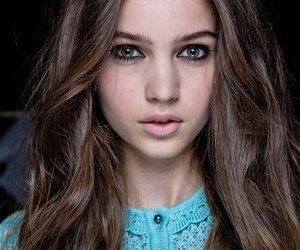beautiful, hair, and brown hair image