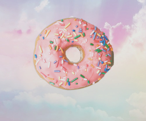 donut, pastel, and cute image