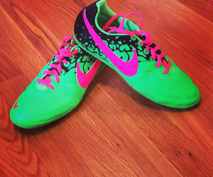 cleats, indoors, and nike image