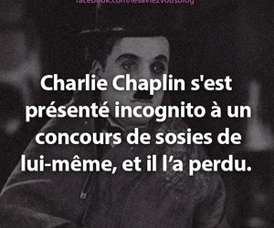 charlie chaplin, drole, and incognito image