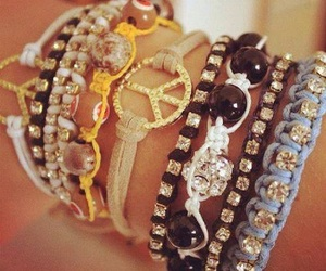 accesories, mix, and bracelets image