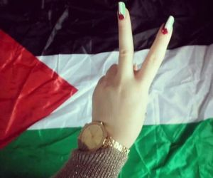 free, nails, and palestine image