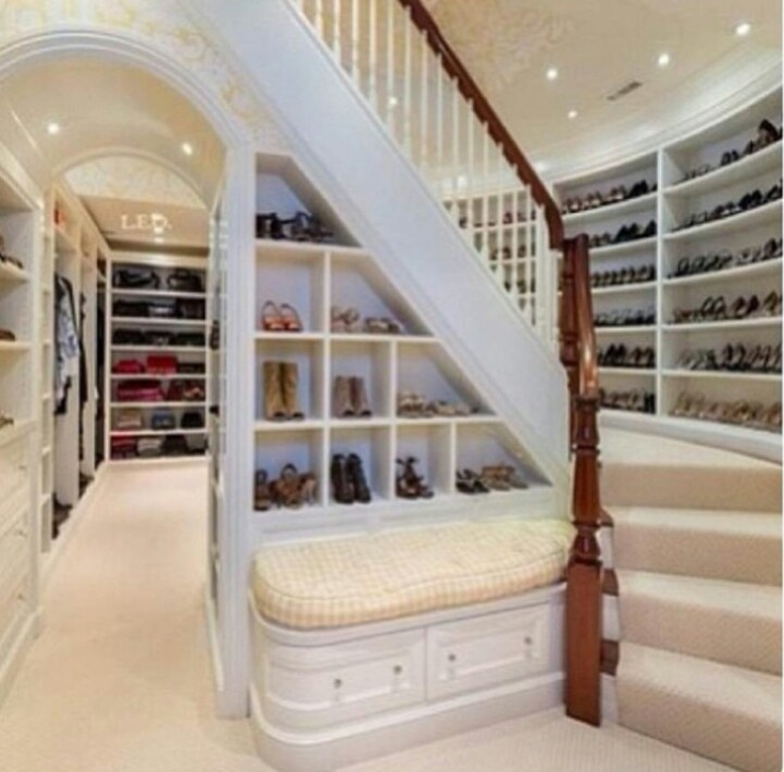 Huge Walk In Closets