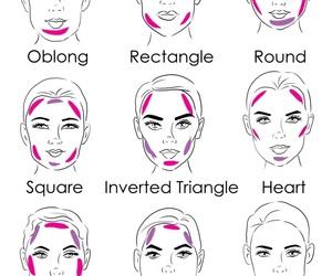 face and makeup image