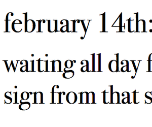 cry, valentines day, and february 14th image