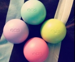 eos, balm, and blue image