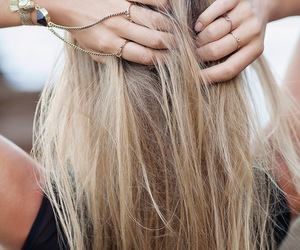 beautiful, hair, and jewelry image