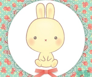 bunny, kawaii, and cute image