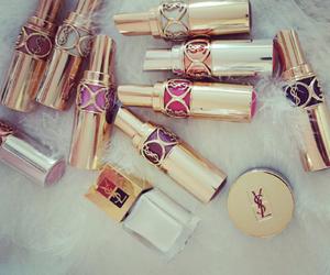 lipstick, YSL, and fashion image