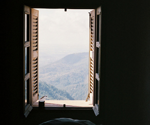 window, view, and vintage image