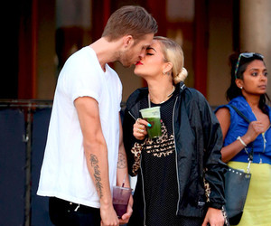 couple, rita ora, and love image