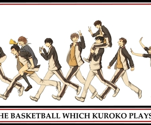kuroko no basket, kuroko tetsuya, and taiga kagami image