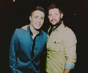 Jensen Ackles and colton haynes image