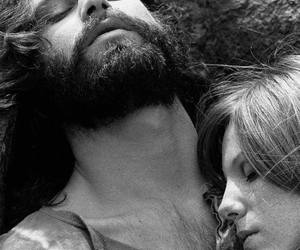love, Jim Morrison, and pamela courson image