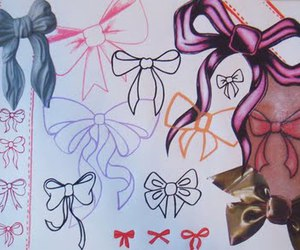 bows and tattoo image